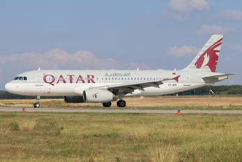 A7-AHU - Qatar Airways Airbus A320