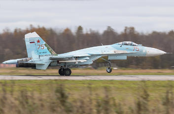 RF-95257 - Russia - Air Force Sukhoi Su-27SM