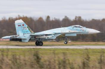 RF-95257 - Russia - Air Force Sukhoi Su-27SM
