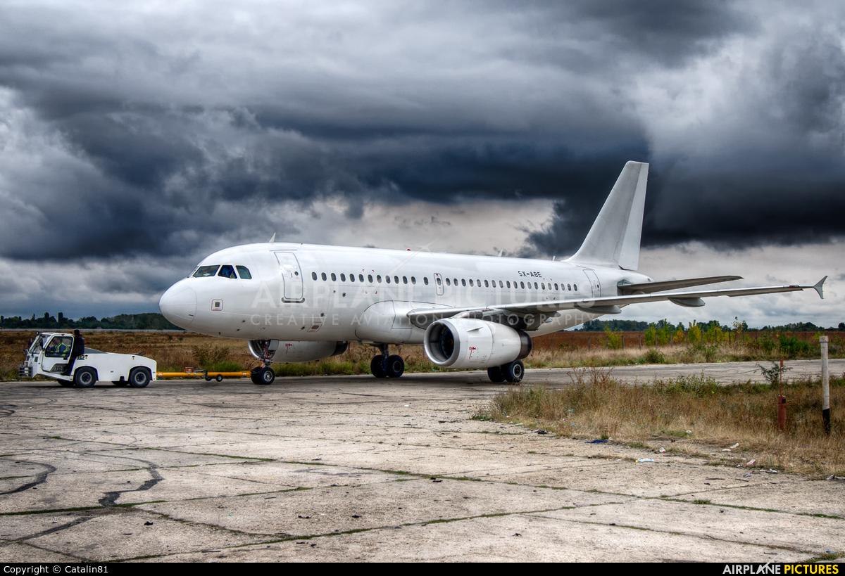 Olympus Airways SX-ABE aircraft at Craiova