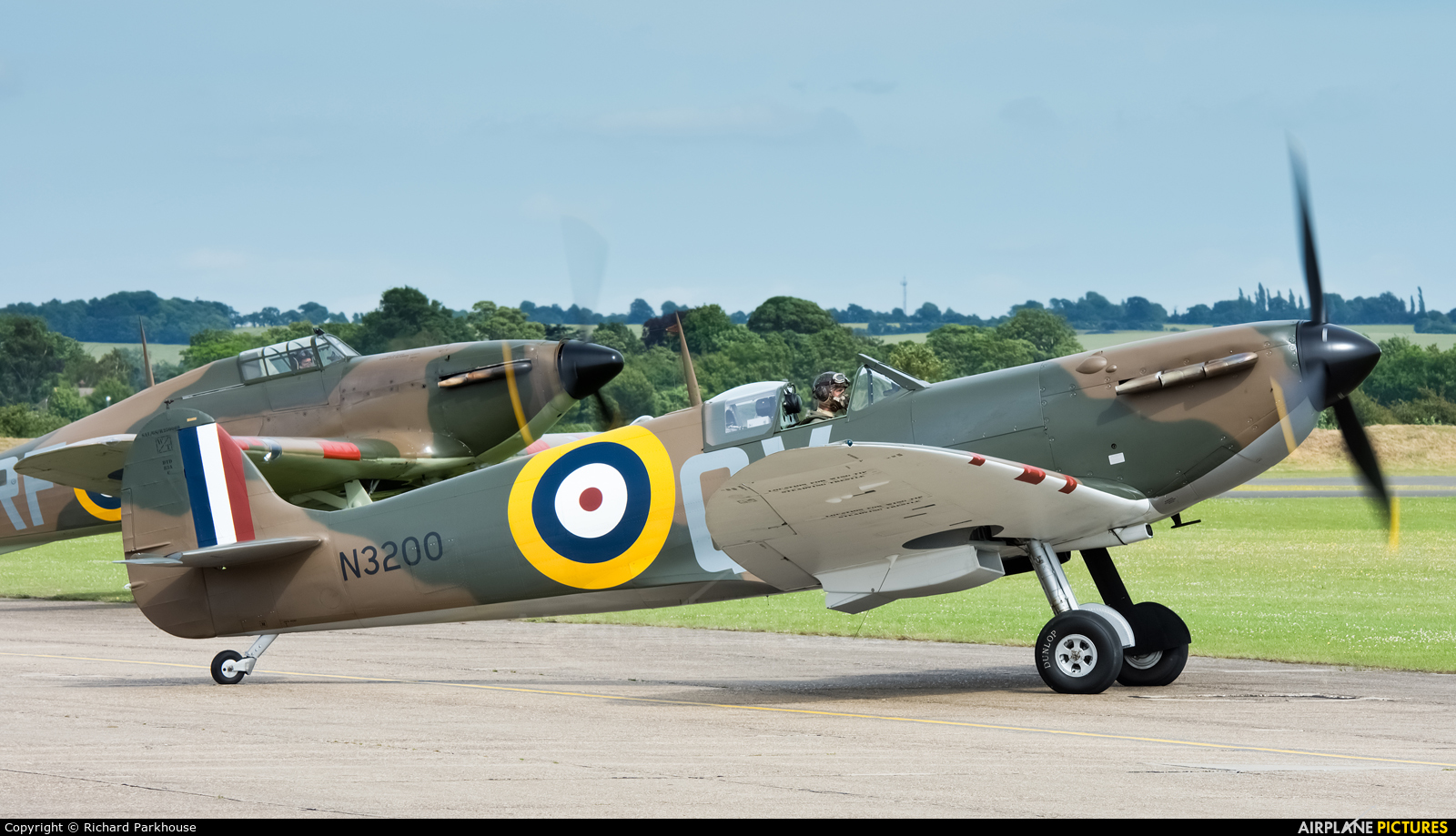 Private G-CFGJ aircraft at Duxford