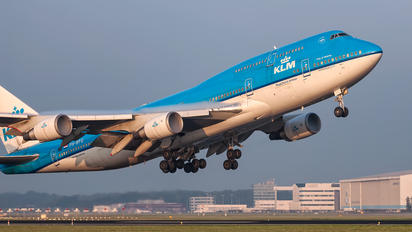 PH-BFU - KLM Boeing 747-400