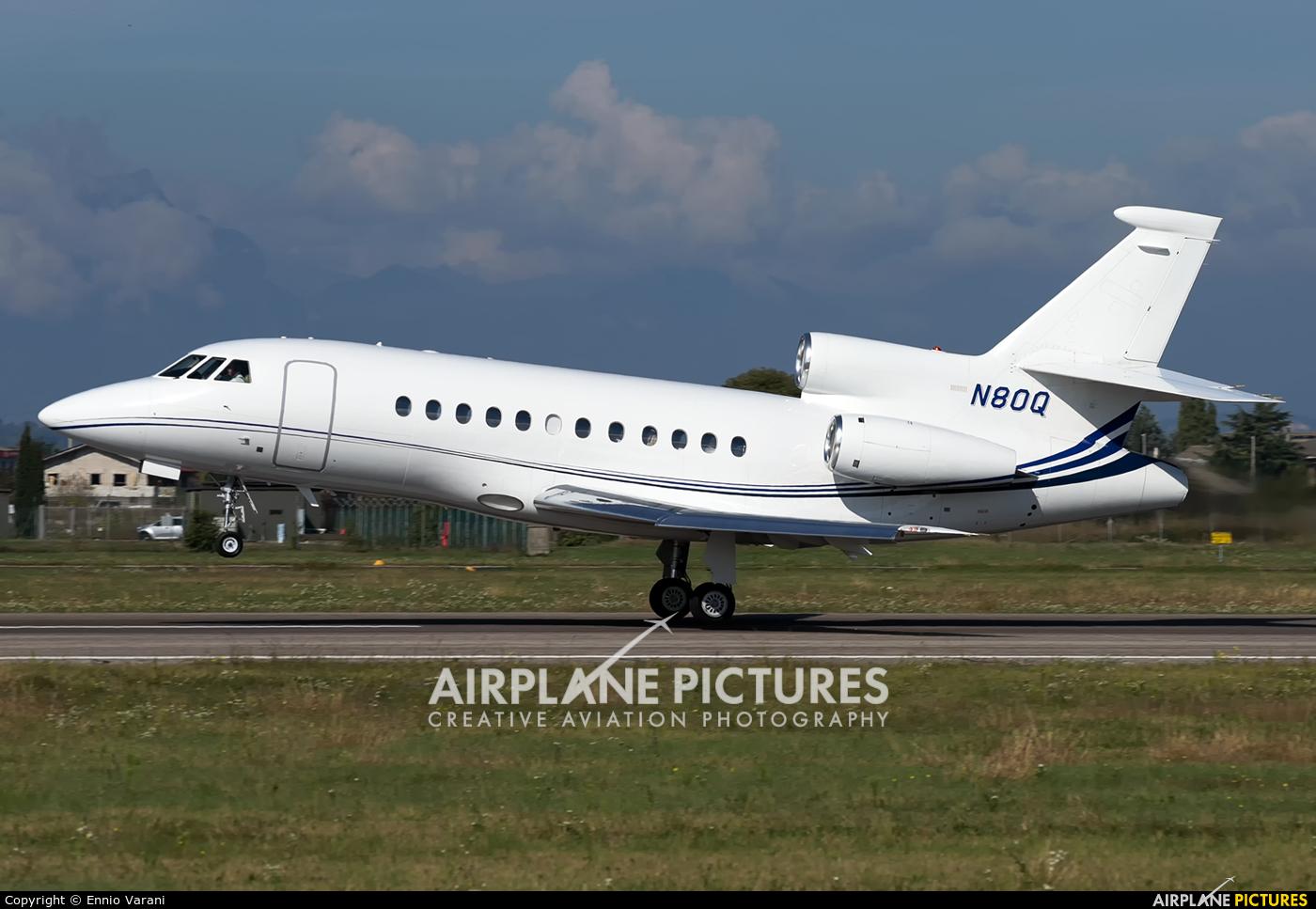 United States Steel Corporation N80Q aircraft at Verona - Villafranca