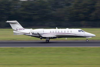 G-ZNTH - Qatar Airways Learjet 75