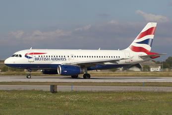 G-EUOE - British Airways Airbus A319