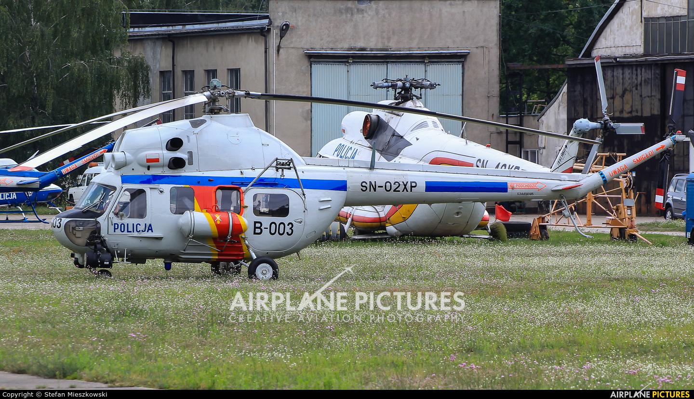 Poland - Police SN-02XP aircraft at Warsaw - Babice