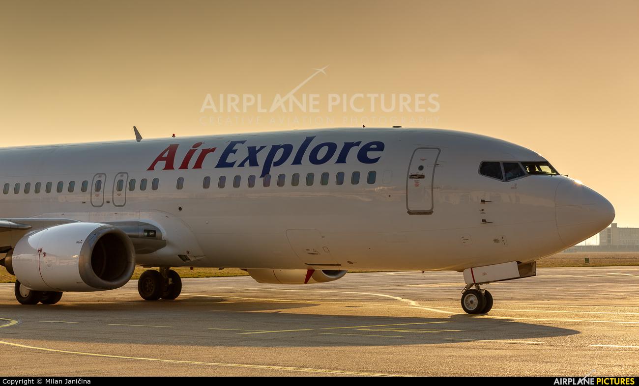 Air Explore OM-DEX aircraft at Piestany
