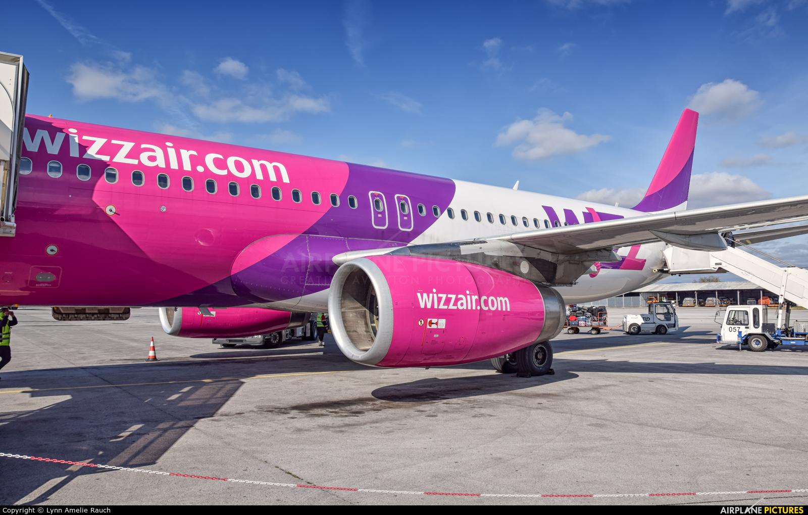Wizz Air HA-LYG aircraft at Sofia