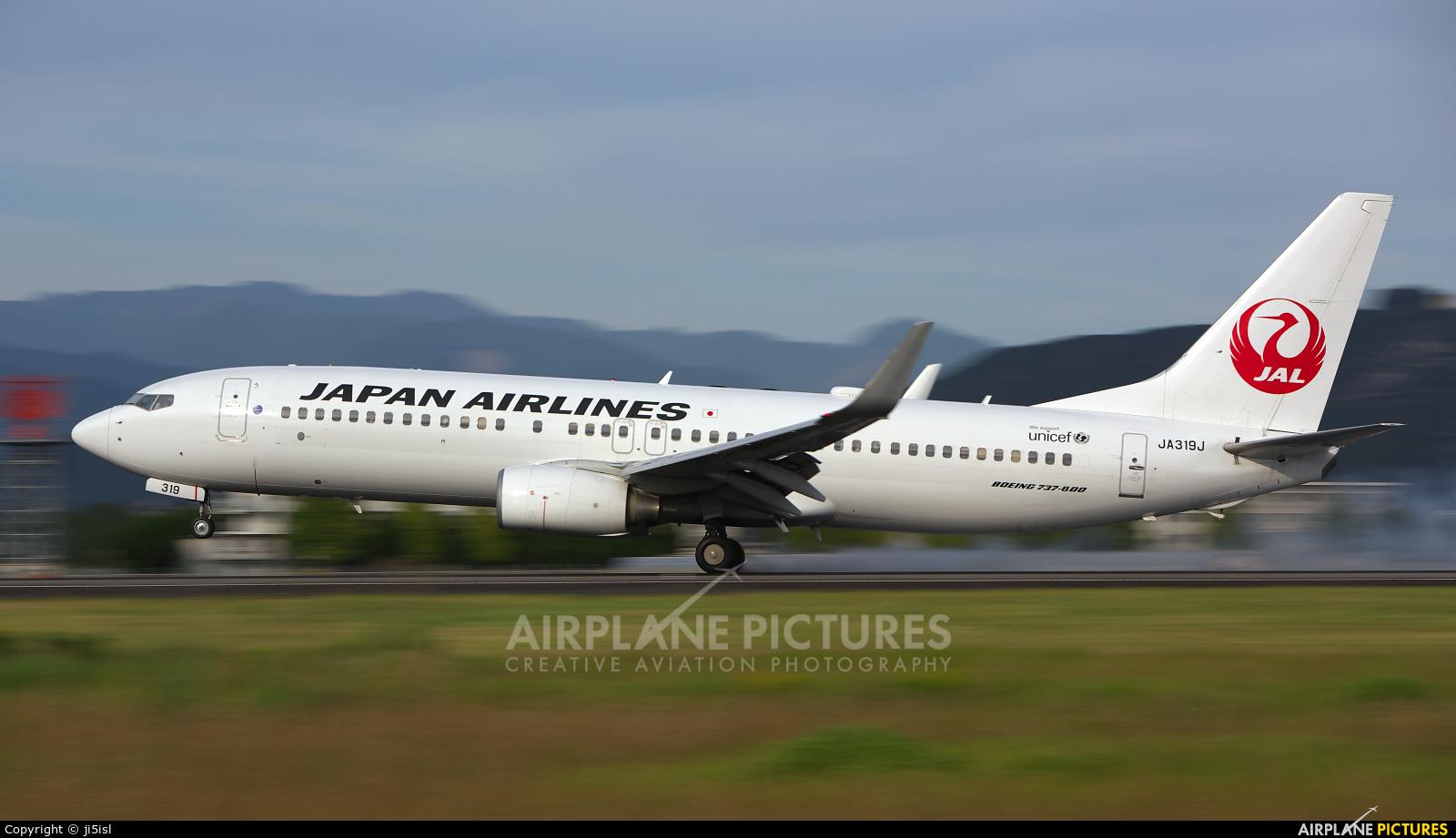 JAL - Japan Airlines JA319J aircraft at Kōchi