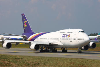 HS-TGX - Thai Airways Boeing 747-400