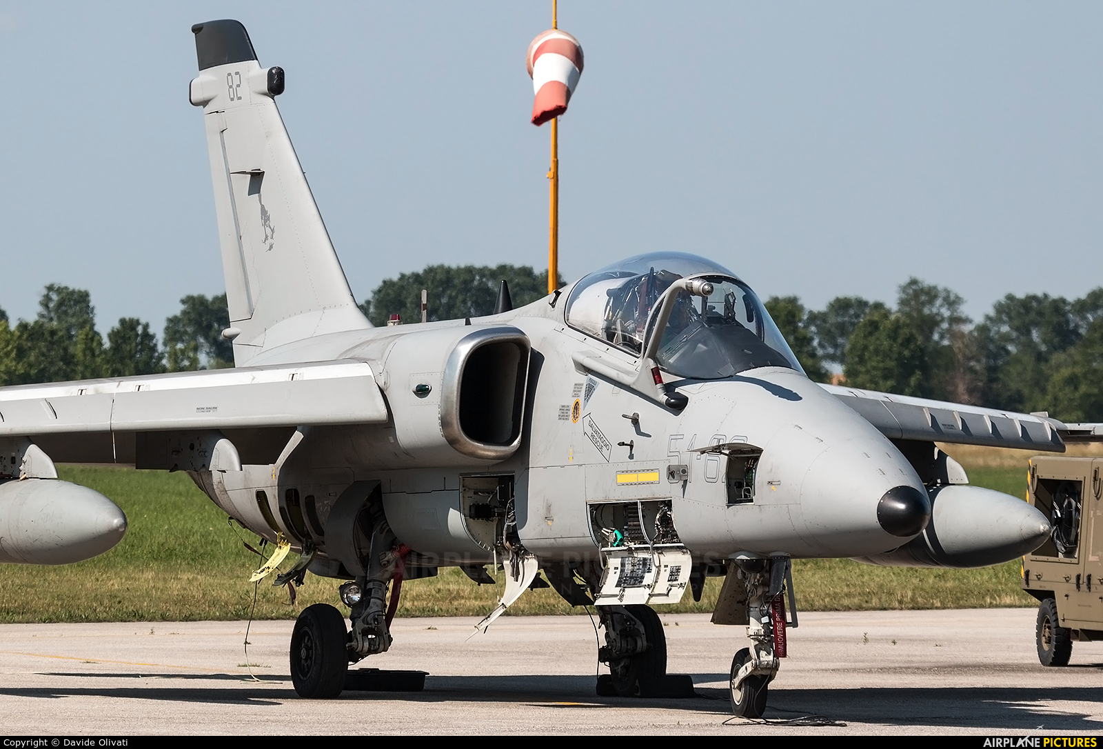 Italy - Air Force MM7182 aircraft at Treviso - Istrana