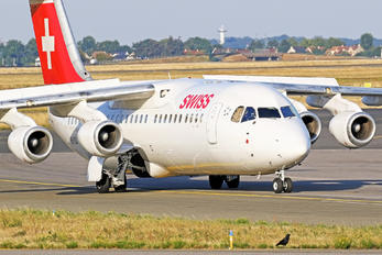 HB-IYQ - Swiss British Aerospace BAe 146-300/Avro RJ100