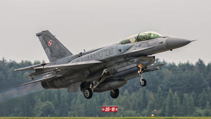 4080 - Poland - Air Force Lockheed Martin F-16D Jastrząb