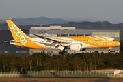 9V-OFE - Scoot Boeing 787-8 Dreamliner aircraft
