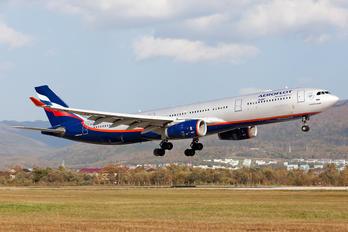 VQ-BQX - Aeroflot Airbus A330-300