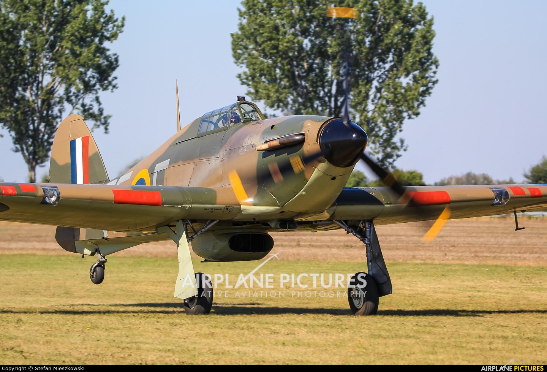 Historic Aircraft Collection G-HURI aircraft at Konstancin-Jeziorna