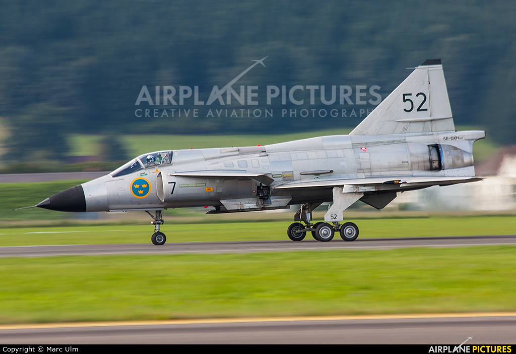 Swedish Air Force Historic Flight SE-DXN aircraft at Zeltweg
