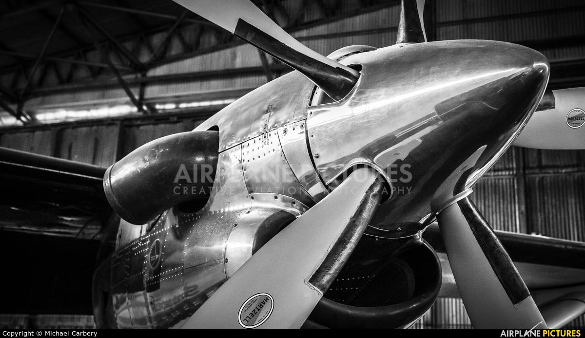 Ulster Aviation Society G-BDBS aircraft at Long Kesh