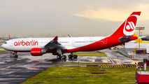 PT-MVS - Air Berlin Airbus A330-200 aircraft