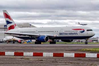 G-BNWM - British Airways Boeing 767-300