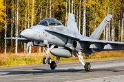 HN-467 - Finland - Air Force McDonnell Douglas F-18D Hornet aircraft