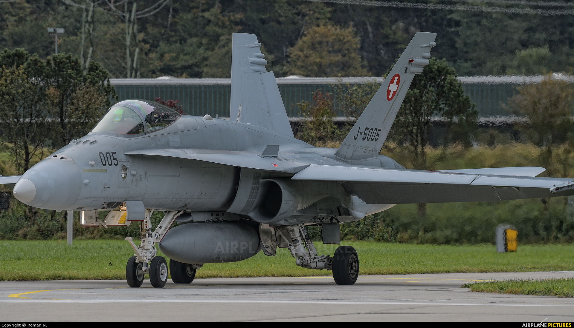 Switzerland - Air Force J-5005 aircraft at Meiringen