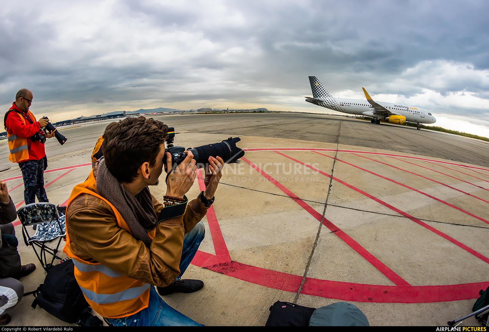 Vueling Airlines EC-MJC aircraft at Barcelona - El Prat