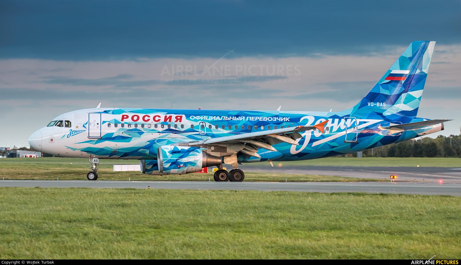 Rossiya VQ-BAS aircraft at Dublin