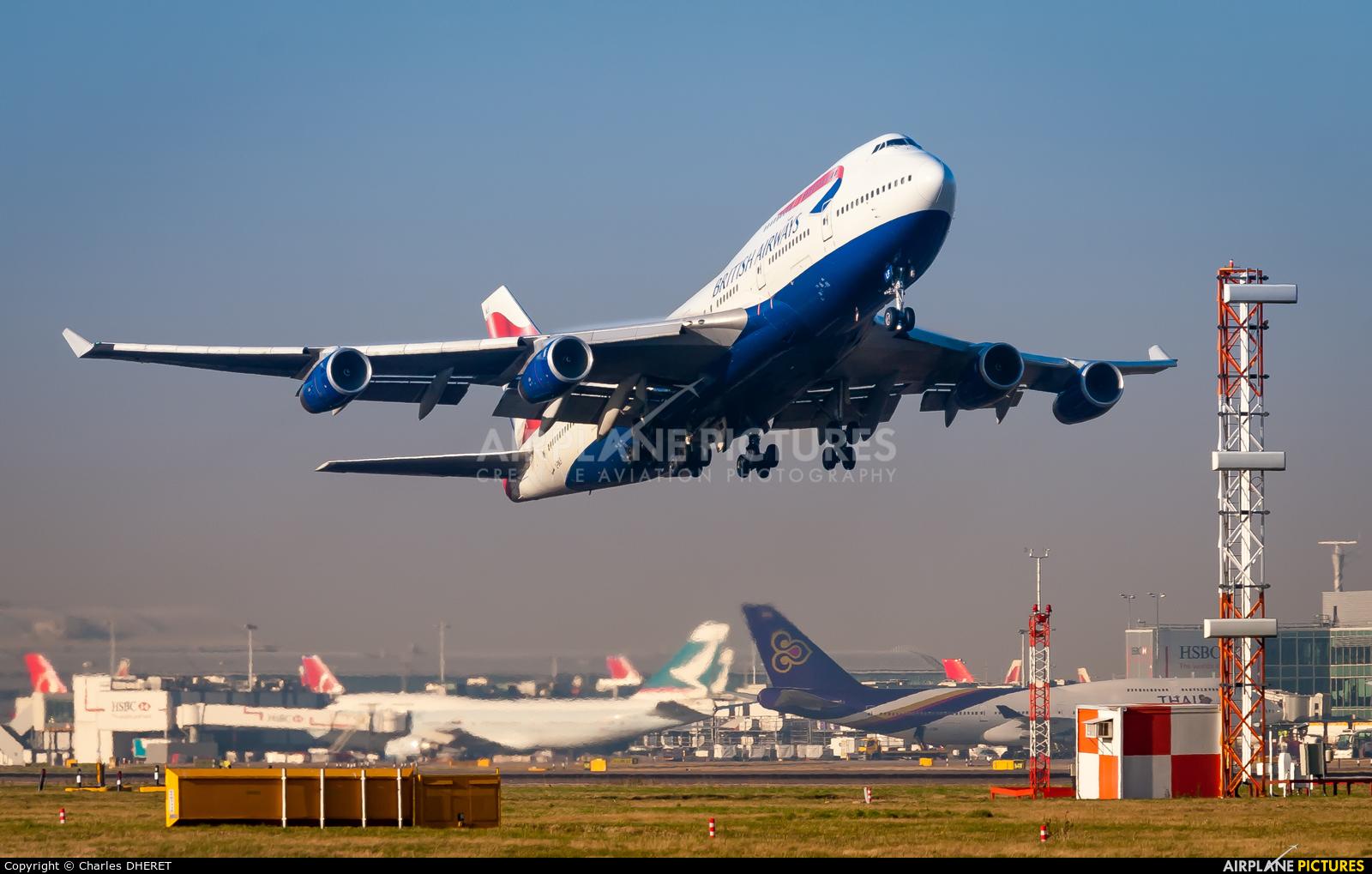 British Airways G-BNLF aircraft at London - Heathrow