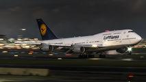 D-ABVY - Lufthansa Boeing 747-400 aircraft