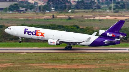 N605FE - FedEx Federal Express McDonnell Douglas MD-11F