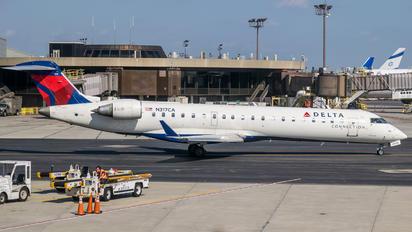 N317CA - Delta Connection Bombardier CRJ-700