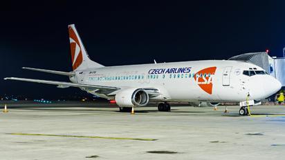 OM-GTB - CSA - Czech Airlines Boeing 737-400