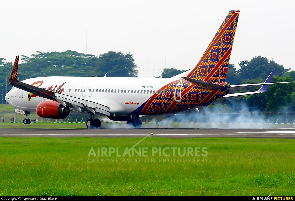 Batik Air PK-LBW aircraft at In Flight - Indonesia