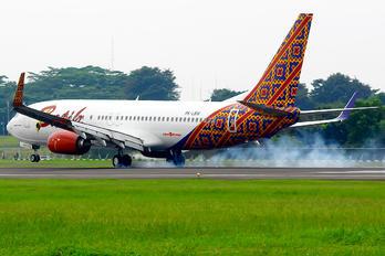 PK-LBW - Batik Air Boeing 737-800