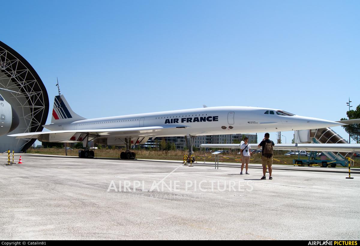 Air France F-BVFC aircraft at Toulouse - Blagnac