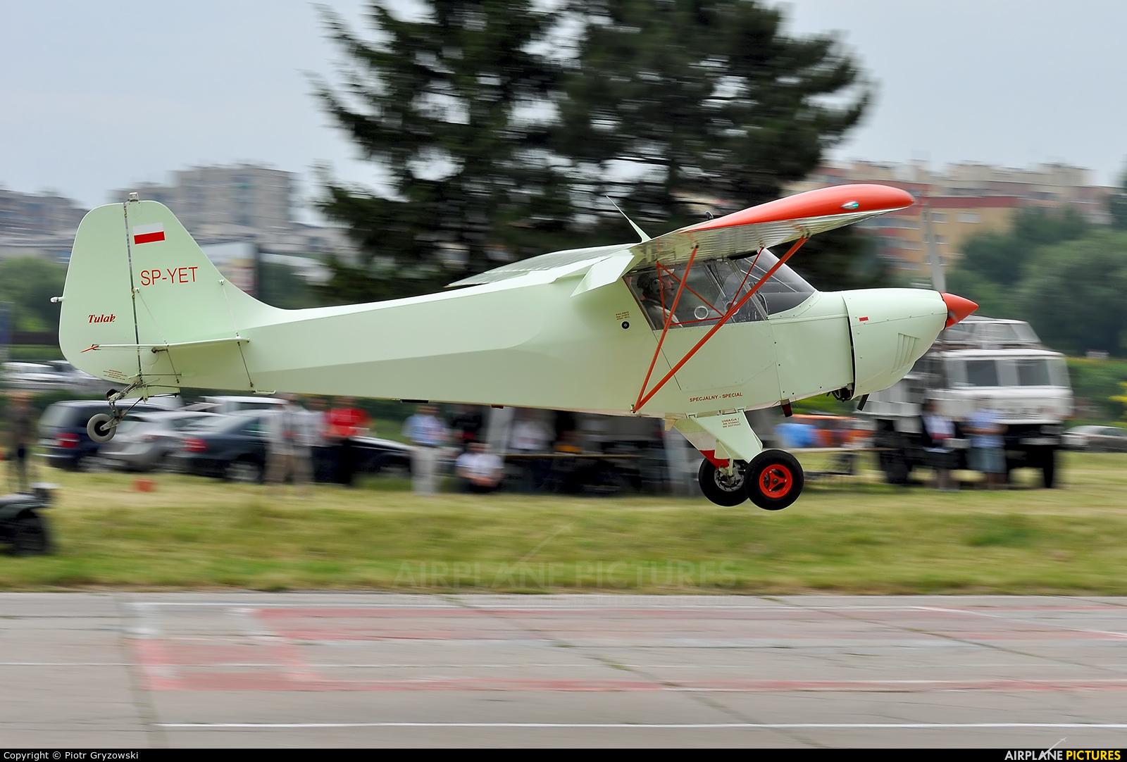 Private SP-YET aircraft at Kraków, Rakowice Czyżyny - Museum of Polish Aviation
