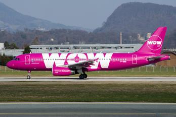 TF-BRO - WOW Air Airbus A320