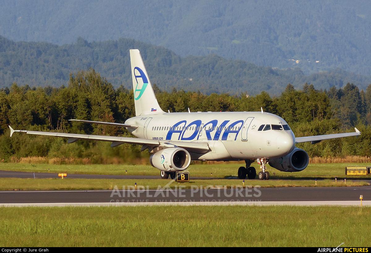 Adria Airways S5-AAP aircraft at Ljubljana - Brnik