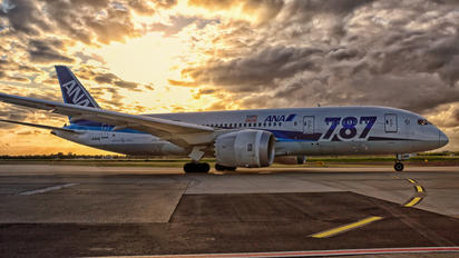 JA814A - ANA - All Nippon Airways Boeing 787-8 Dreamliner