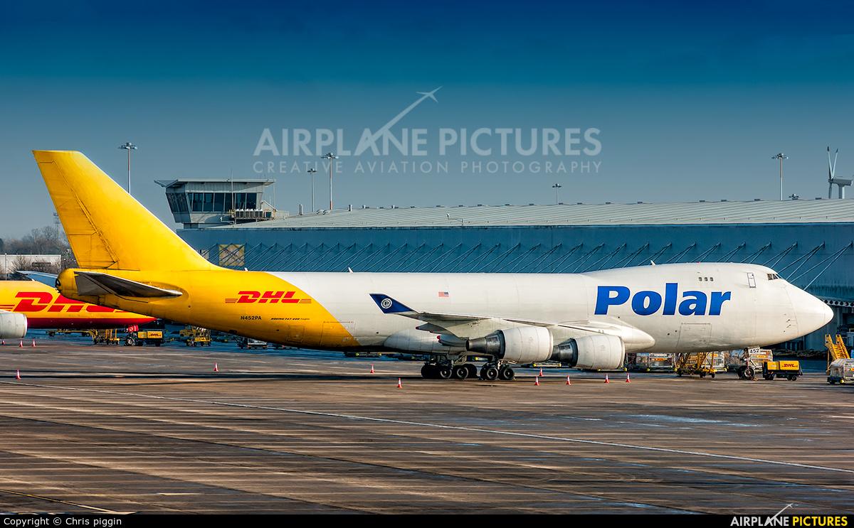 Polar Air Cargo N452PA aircraft at East Midlands