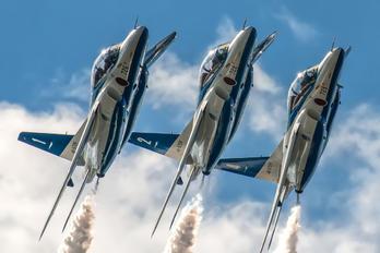 45-5726 - Japan - ASDF: Blue Impulse Kawasaki T-4