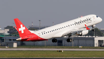 HB-JVN - Helvetic Airways Embraer ERJ-190 (190-100)