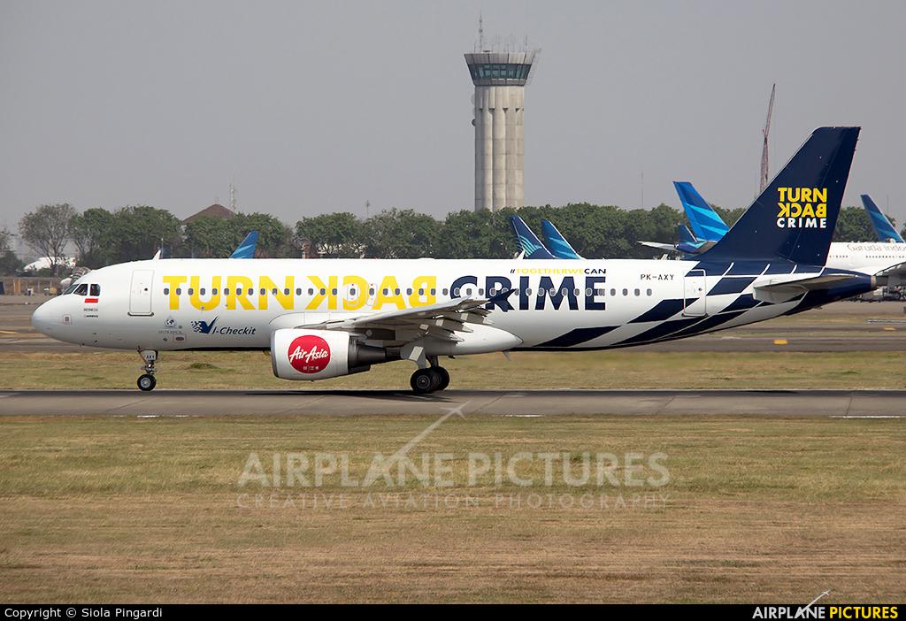 AirAsia (Indonesia) PK-AXY aircraft at Jakarta - Soekarno-Hatta Intl