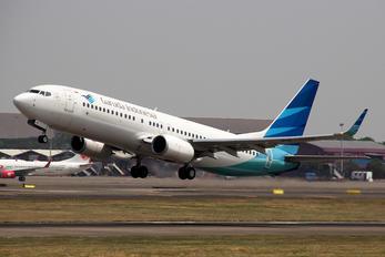 PK-GNK - Garuda Indonesia Boeing 737-800