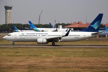 PK-GEQ - Garuda Indonesia Boeing 737-800