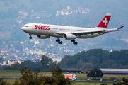 HB-JHG - Swiss Airbus A330-300 aircraft