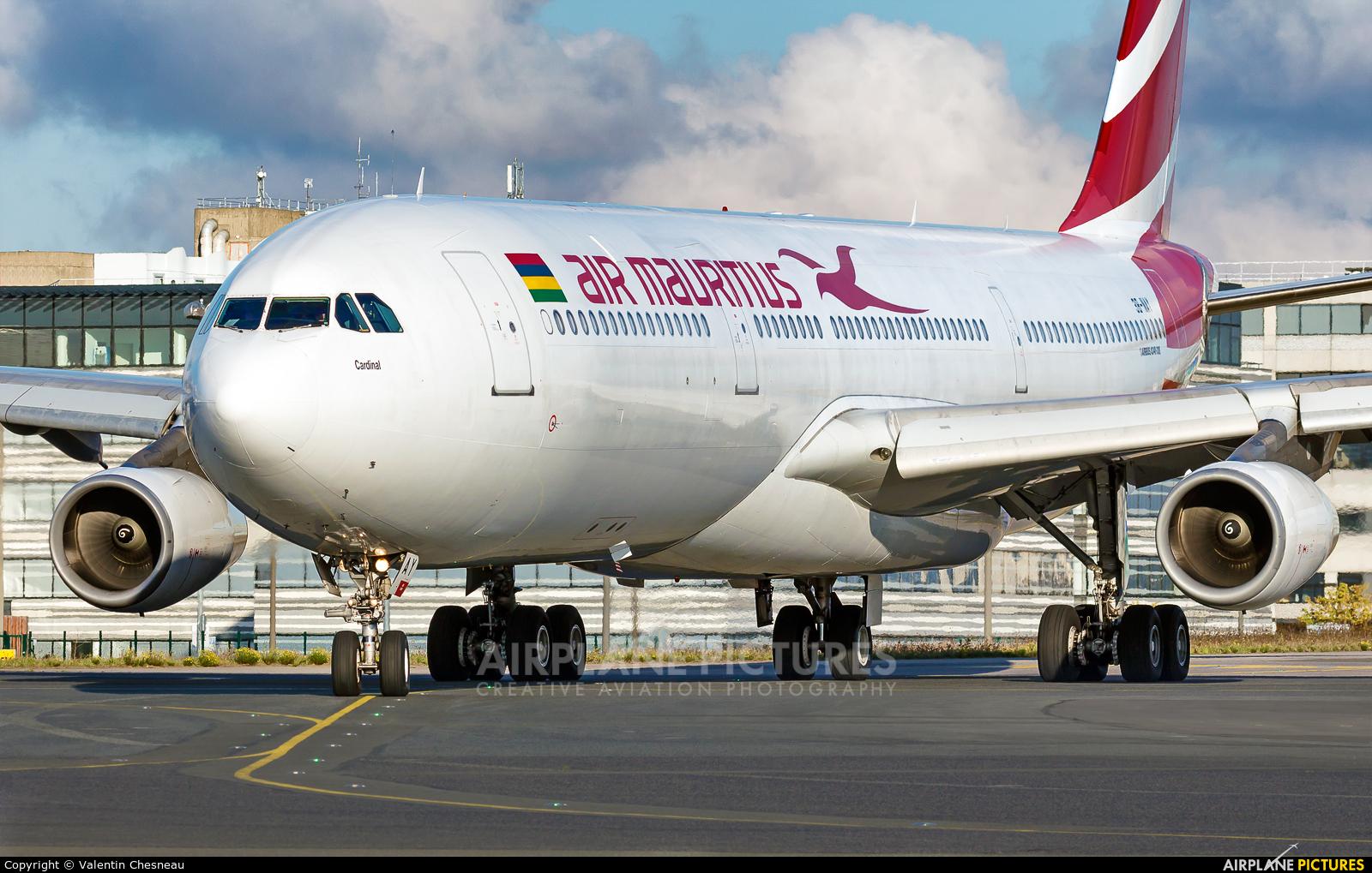 Air Mauritius 3B-NAY aircraft at Paris - Charles de Gaulle