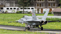 J-5025 - Switzerland - Air Force McDonnell Douglas F/A-18C Hornet aircraft