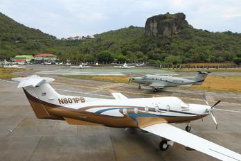 N801PB - Private Pilatus PC-12